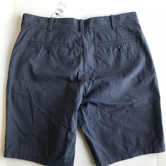 Express Other - NWT Men's Express Shorts Navy Blue Stripe